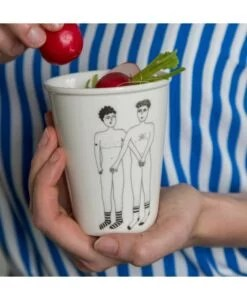 Mug 2 Willies Helen B – Couple homme