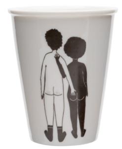 Mug White man & Black woman Helen B