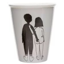 Mug Black man & White woman Helen B