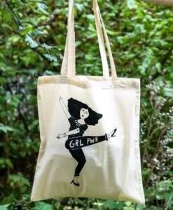 Tote-bag Girl Power Helen B