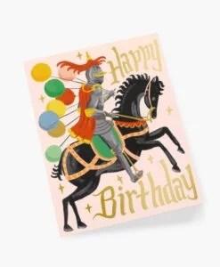 Carte anniversaire Chevalier Rifle Paper