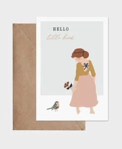 Carte Hello Little Bird Atelier Oranger