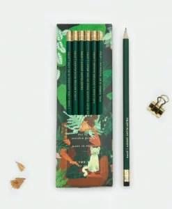 Set de 6 crayons à papier Plant addict