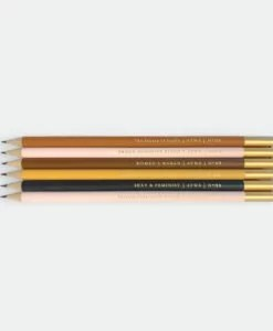 Set de 6 crayons à papier Feminist