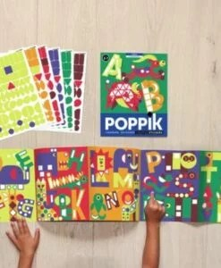Poster + 520 Stickers Les Lettres (3-7 ans)