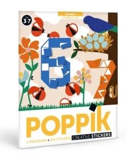 Poster + 520 Stickers Les chiffres (3-7 ans)