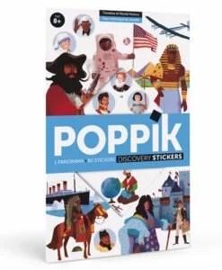 Poster stickers - Frise historique du monde POPPIK