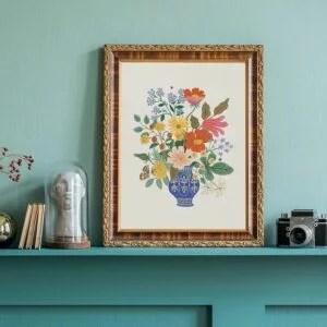 affiche-rifle-paper-vase-fleurs-pastelshop