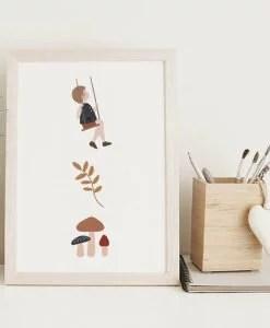 Affichette Friends compagnie 6 Atelier Oranger
