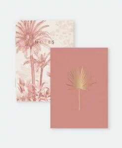 Carnets de poche Pink Forrest- lot de 2
