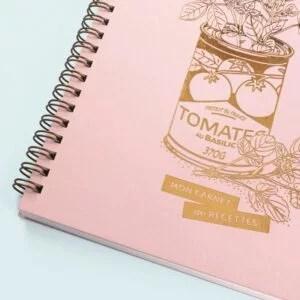 carnet-recettes-rose
