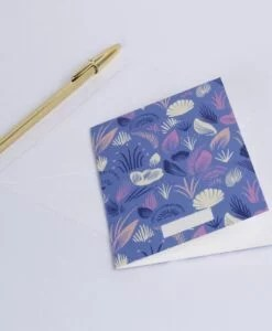 Carte Coquillages Season Paper