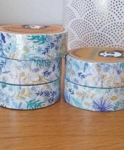 Masking tape Blue Vegetal