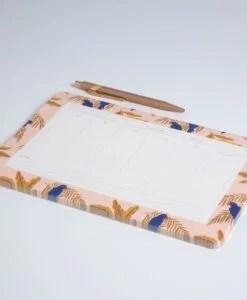 Semainier Perroquets Season Paper