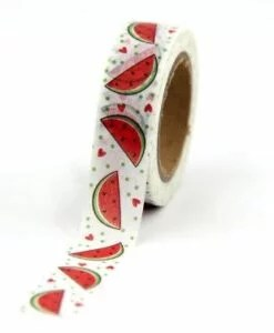 Masking tape Pastèque