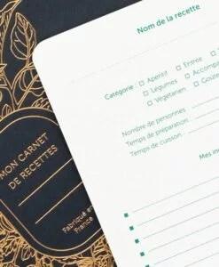 Carnet de recettes Abondance Les Editions du Paon