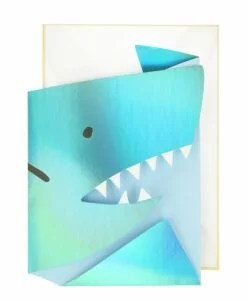 Carte anniversaire 3D Requin Meri Meri