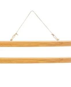 Porte affiche bambou 31 cm