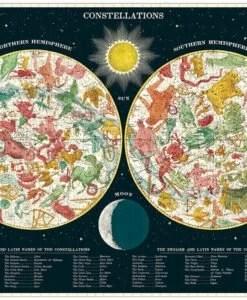 Puzzle Constellations 1000 pièces Cavallini