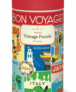Puzzle Voyage 1000 pièces Cavallini
