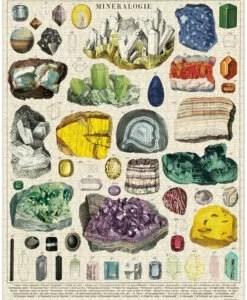 Puzzle Minéraux 1000 pièces Cavallini