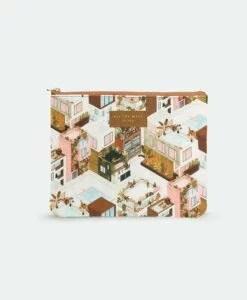 Pochette City terracotta