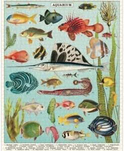 Puzzle Aquarium 1000 pièces Cavallini