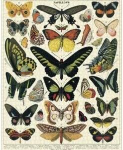Puzzle Papillons 1000 pièces Cavallini