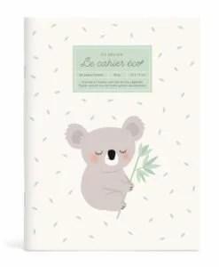 Cahier écolier Koala Eco-responsable