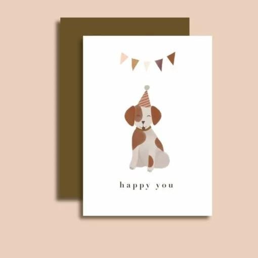 Carte Happy you Minimel