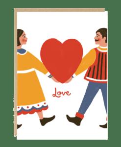 Carte Love United Jade Fisher