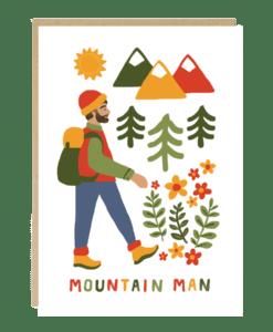Carte Moutain Man Jade Fisher