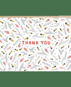 Carte remerciement sioux Jade Fisher
