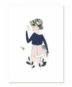 Affiche Adélaïde Bleu My Lovely Thing