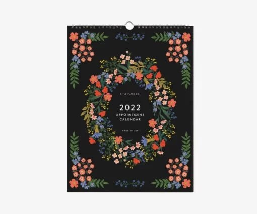 Calendrier 2022 Luxembourg Rifle Paper