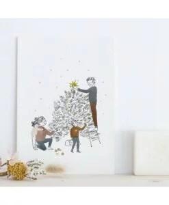 Carte Sapin Joyeux Noël