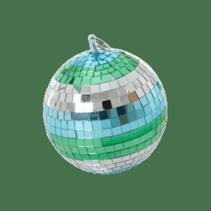 Boule à facettes Vert – 18 cm