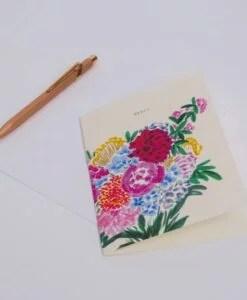 Carte Merci Le bouquet Season Paper