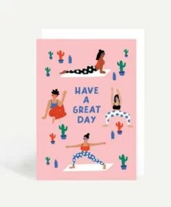 Carte Yogis Have a great day