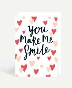 Carte You make me smile