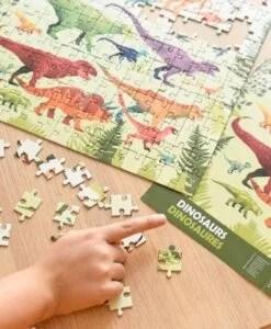 Puzzle 280 pièces Dinosaures Poppik