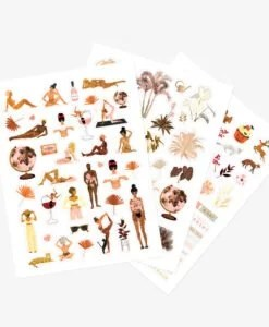 Stickers Women's world All The Ways To Say – 3 planches