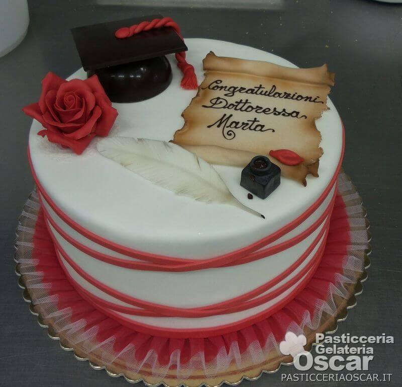 FFL011  Torta per Laurea  oscar