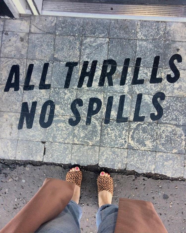 All thrills