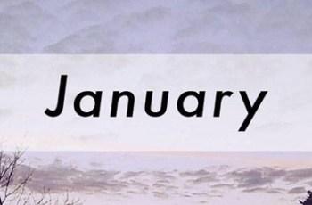 January Sad Songs