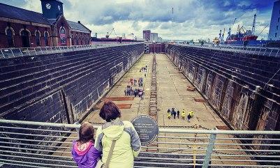 Titanic Docks Belfast
