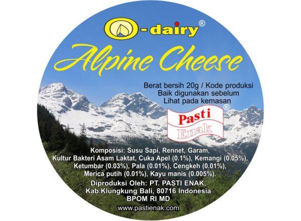 Indonesian Alpine Cheese