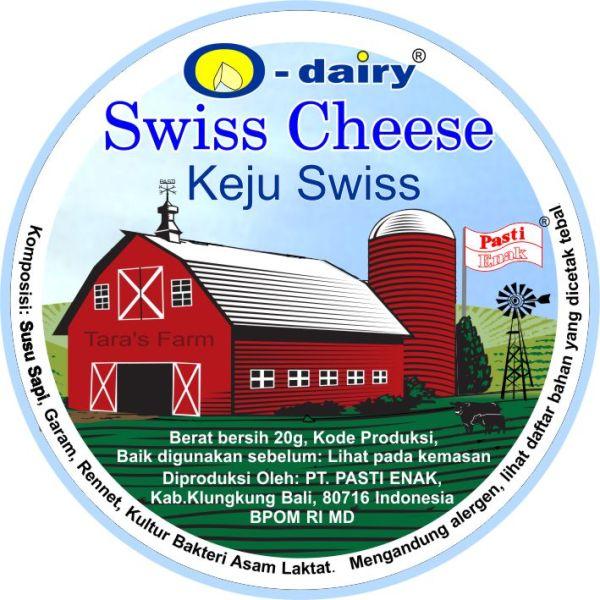 Pasti Enak Swiss Cheese