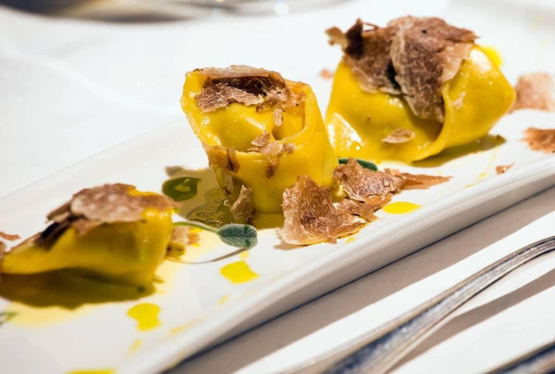 tartufo e fois gras pastificio marcello Marcello