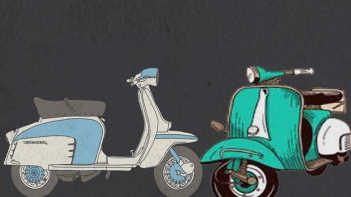 Perbedaan Antara Vespa dan Lambretta
